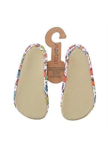 Slipstop Funny Cats Çocuk Kaydırmaz Ayakkabı - Patik Ss17110179 Renkli